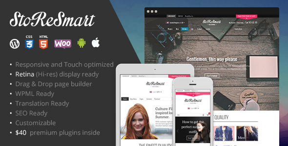 ThemeForest StoReSmart Multipurpose Ecommerce Theme 9461406