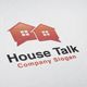 House Talk Logo - GraphicRiver Item for Sale