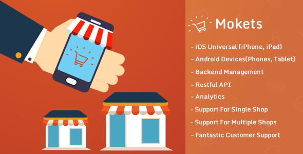 CodeCanyon Mokets Mobile Commerce Full Application 9956637