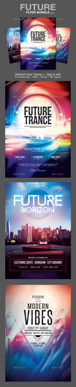GraphicRiver Future Flyer Bundle Vol.04 9956717