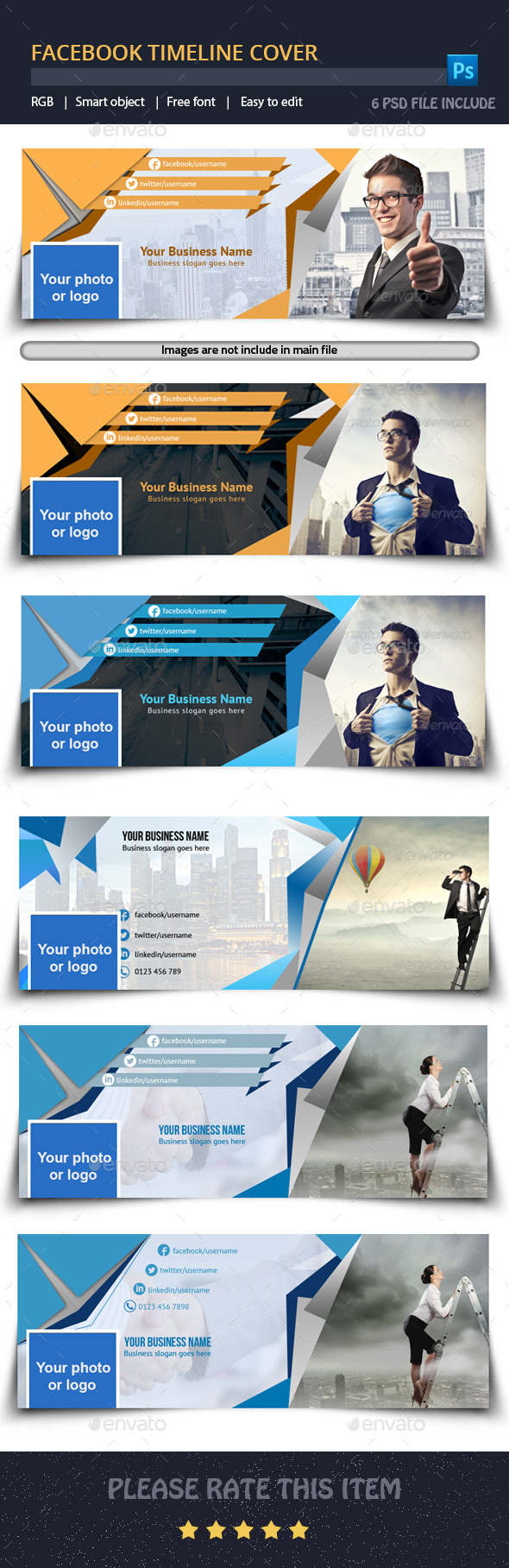 GraphicRiver Facebook Timeline Cover 9956803