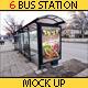 6 Bus Station Mock Ups - GraphicRiver Item for Sale