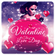 Valentine's Day - Flyer Template - GraphicRiver Item for Sale