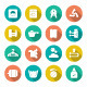 Set Flat Icons of Laundry - GraphicRiver Item for Sale