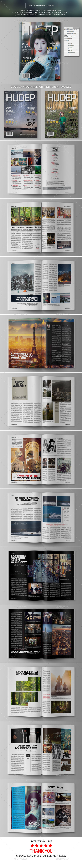GraphicRiver Life Journey Magazine 9942808