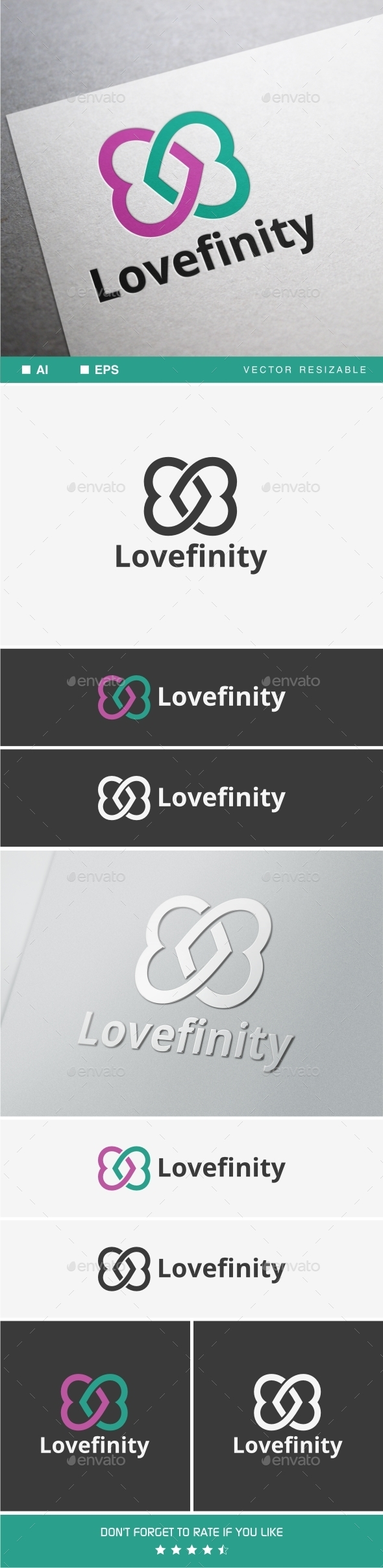 GraphicRiver Lovefinity 9957454