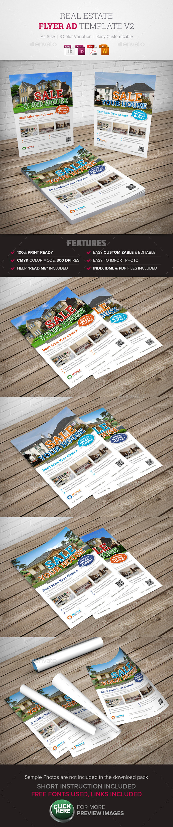 GraphicRiver Real Estate Flyer Ad v2 9957551