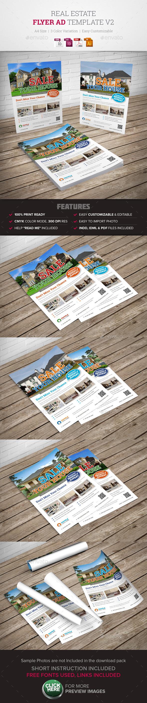 GraphicRiver Real Estate Flyer Ad v2 9957551