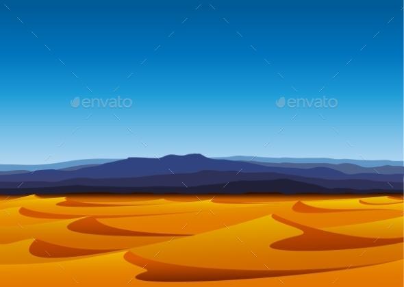 GraphicRiver Desert 9957670