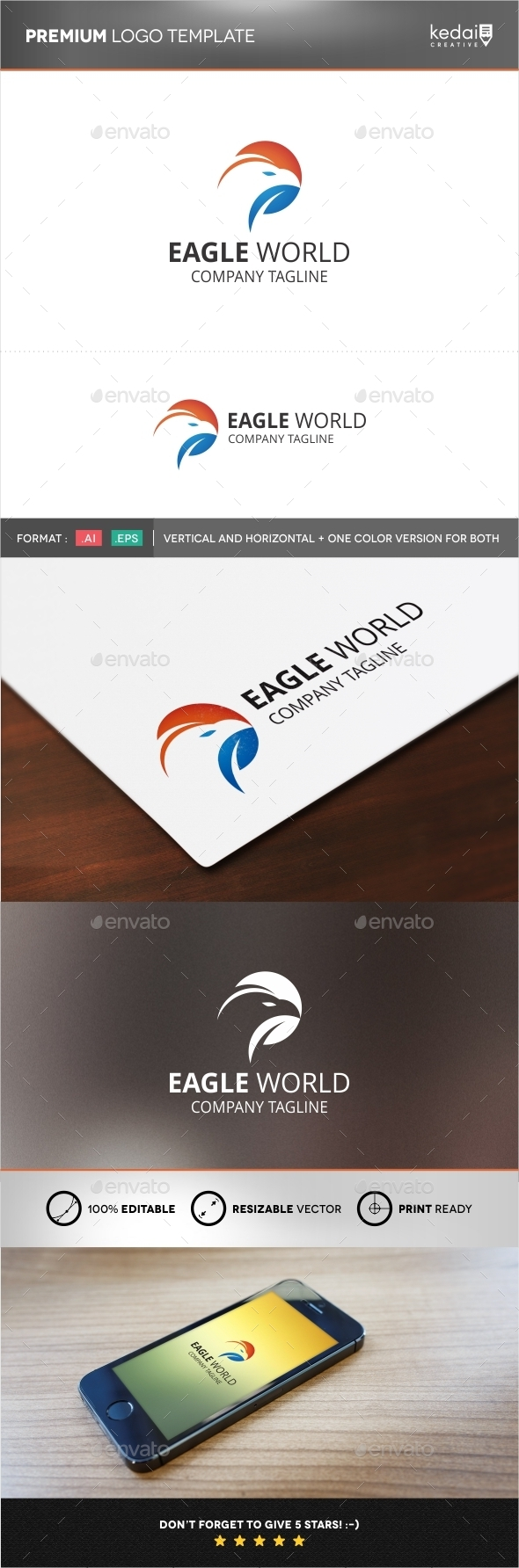 GraphicRiver Eagle World 9957797
