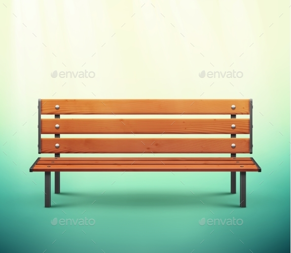 GraphicRiver Isolated Bench 9957955