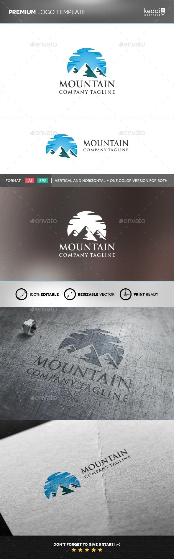 GraphicRiver Mountain 9958029