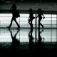 Silhouettes at the Airport - VideoHive Item for Sale