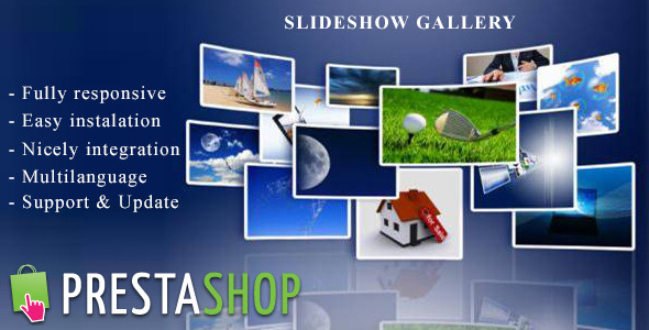 CodeCanyon Responsive Slideshow Gallery for Prestashop 9958137
