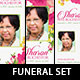 Floral Funeral Stationery Template Set - GraphicRiver Item for Sale