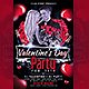 Valentine' Day Party Flyer - GraphicRiver Item for Sale