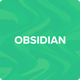 Obsidian Tumblr Theme Premium Blog & Creative