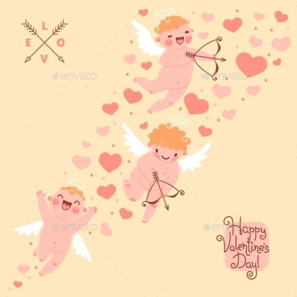 GraphicRiver Valentines Day Background 9958992