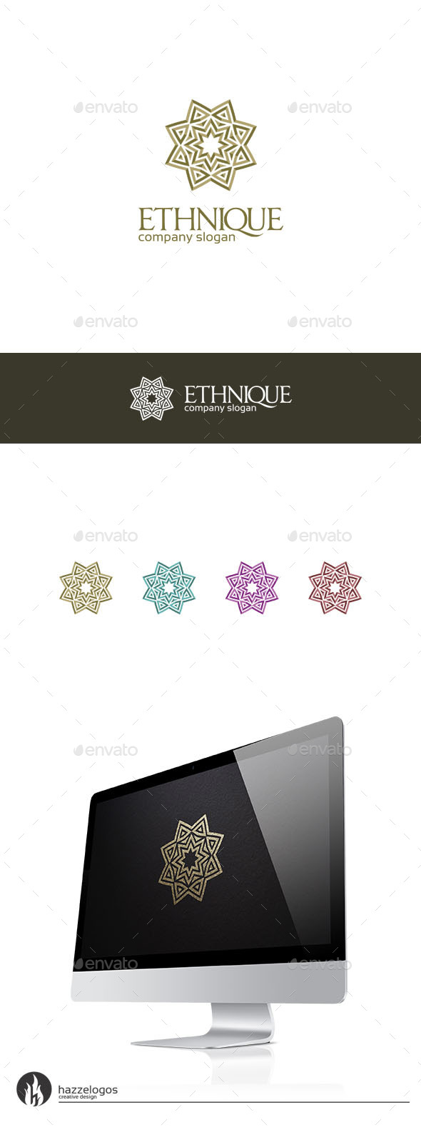 GraphicRiver Ethnique Logo 9959129