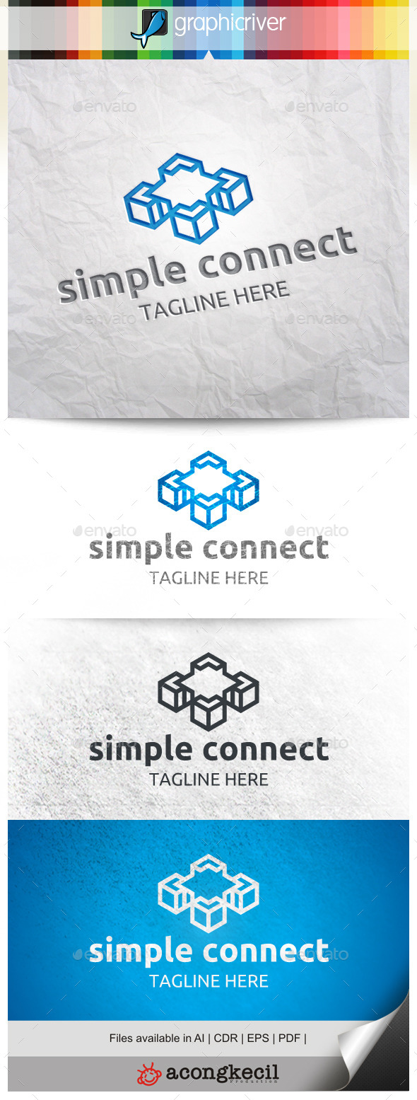GraphicRiver Simple Connecting 9959213
