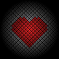 Heart Tile Background - PhotoDune Item for Sale