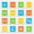 Math Symbol Stickers - PhotoDune Item for Sale