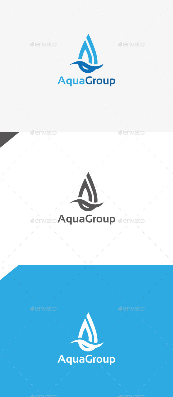 GraphicRiver Aqua Group 9959697