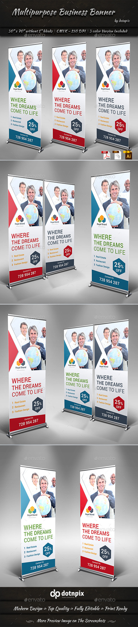 Multipurpose Business Banner