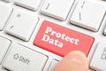 Pressing protect data key on keyboard  - PhotoDune Item for Sale