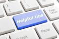 Helpful tips key on keyboard - PhotoDune Item for Sale