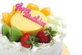Birthday cake isolated on white background  - PhotoDune Item for Sale