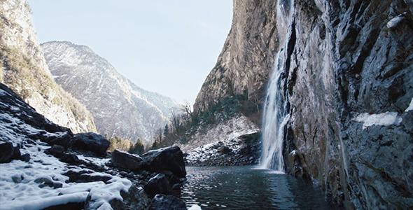 Mountain Waterfall 2