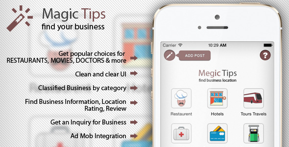 CodeCanyon IOS Local Search Engine 9960653