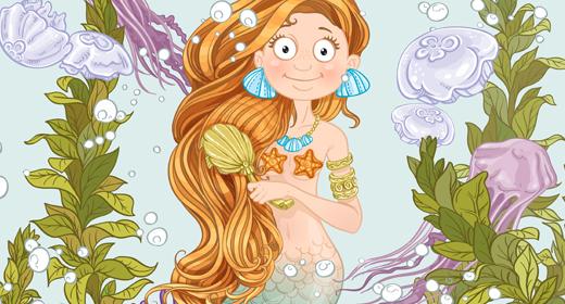 Mermaids and sea