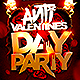 Anti Valentines Day Flyer - GraphicRiver Item for Sale