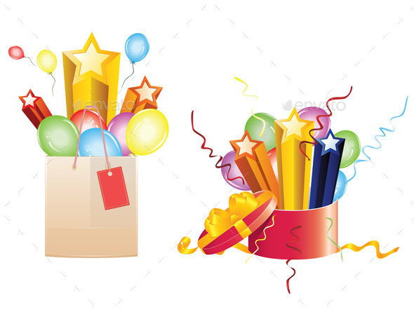 GraphicRiver Celebration Gifts 9961061