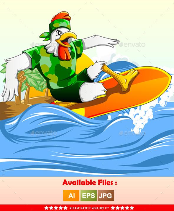 GraphicRiver Chicken Surf 9961147