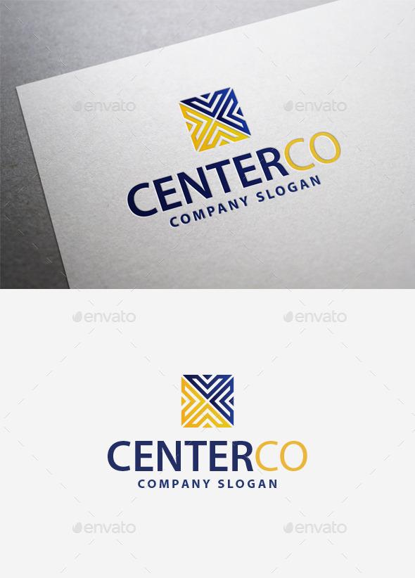 GraphicRiver Centerco Logo 9961225