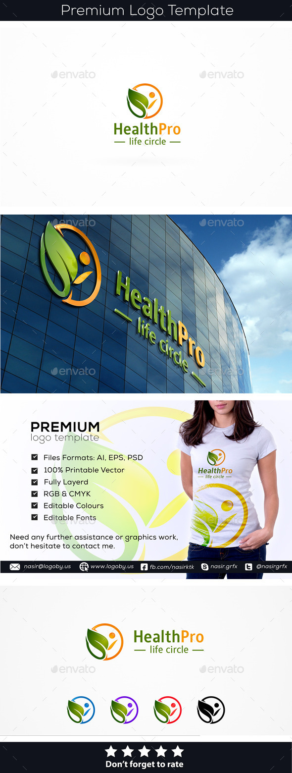 GraphicRiver Healthy Person 9961348