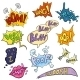 Vector Set of Cartoon Comics Phrases and Effects. - GraphicRiver Item for Sale