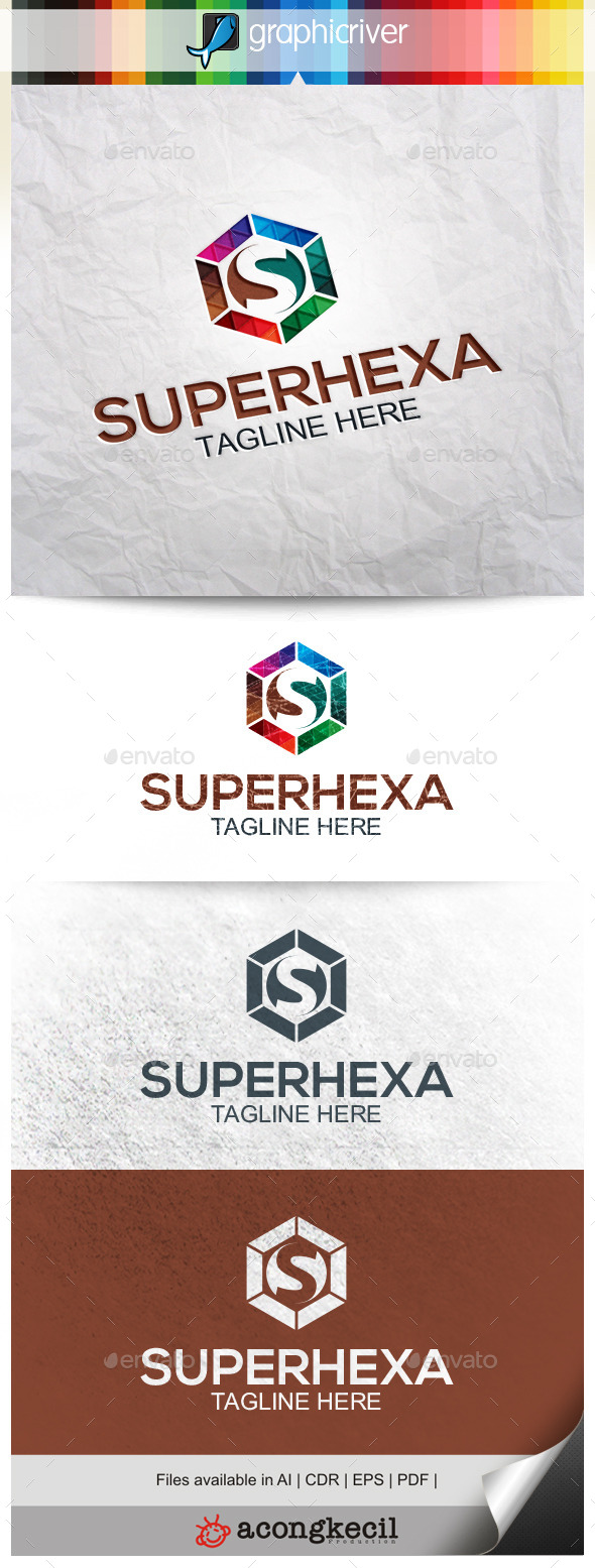 GraphicRiver Super Hexa 9961402