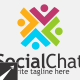 Social Chat Logo Template - GraphicRiver Item for Sale