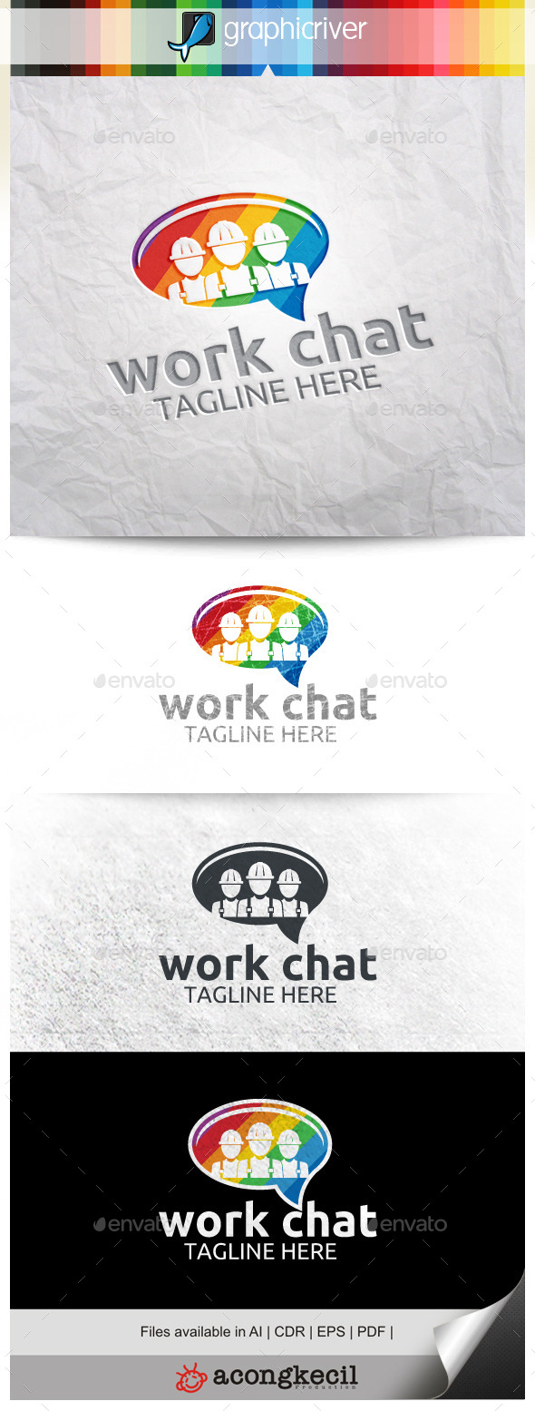 GraphicRiver Work Chat 9961555