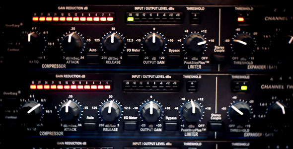 Studio Music Amplifier Mixer