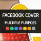 Multiple Modern Facebook Cover Template - GraphicRiver Item for Sale