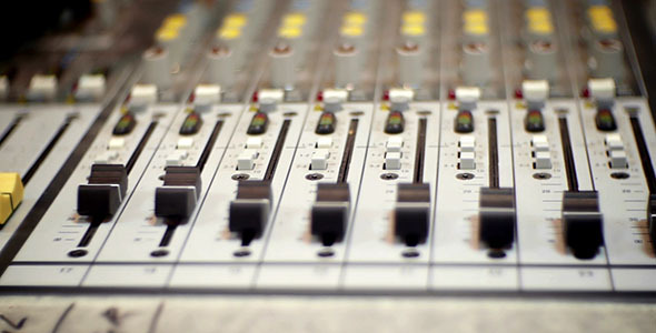 Studio DJ Mixer