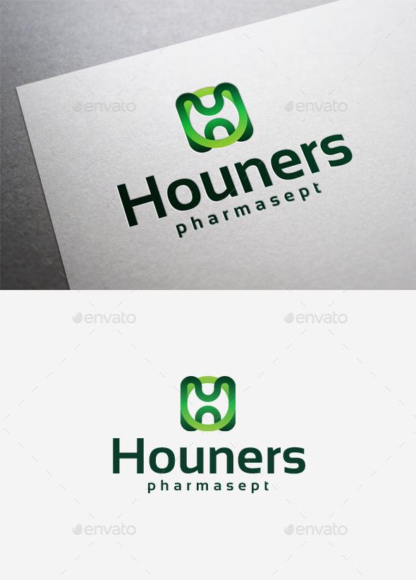 GraphicRiver Houners Logo 9961617