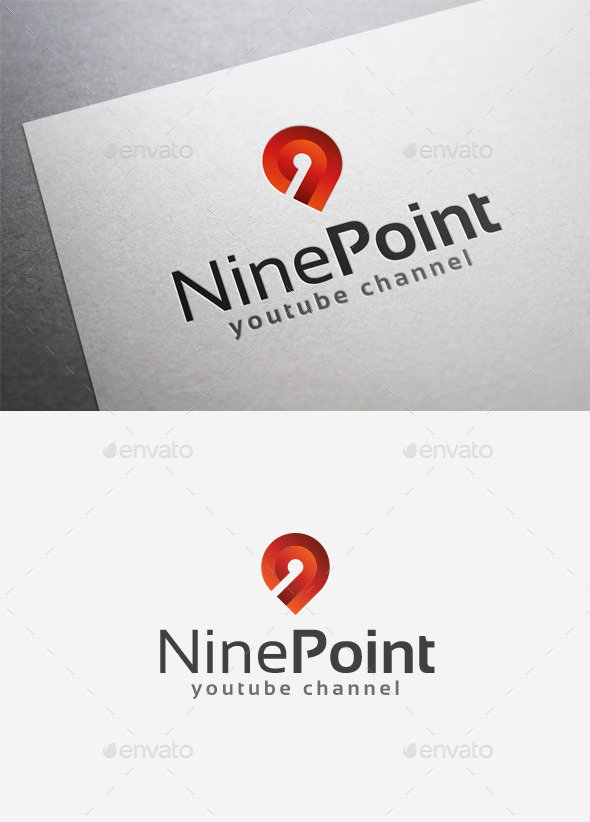 GraphicRiver Nine Point Logo 9961714