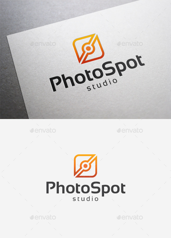 GraphicRiver Photo Spot Logo 9961734