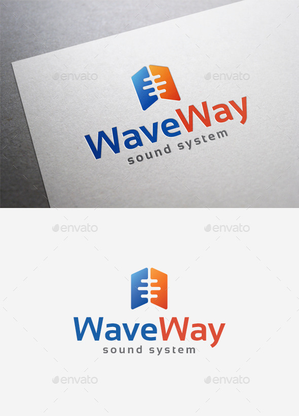 GraphicRiver Wave Way Logo 9961856
